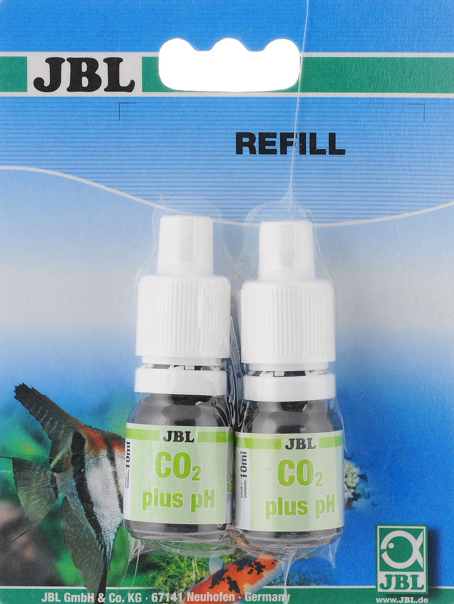 Реагенты JBL CO2/pH-Permanent Refill, для тестового набора JBL CO2/pH Permanent Test-Set, 2 штJBL2539300Набор реагентов для измерения содержания углекислого газа в воде аквариума JBL CO2/pH-Permanent Refill предназначен для тестового набора для JBL CO2/pH Permanent Test-Set. Использование специальной индикаторной жидкости вместо аквариумной воды позволяет напрямую измерить содержание СО2 в мг/л. Оптимальный уровень содержания углекислого газа (СО2) в воде составляет 20-25 мг/л. Комплектация: 2 шт. Объем реагентов: 10 мл.