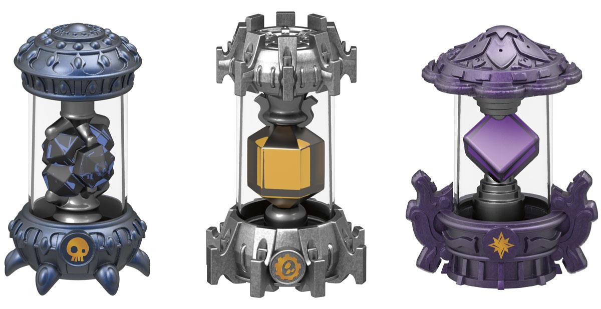 Skylanders Imaginators. Набор из 3 кристаллов стихий Magic, Tech, Undead