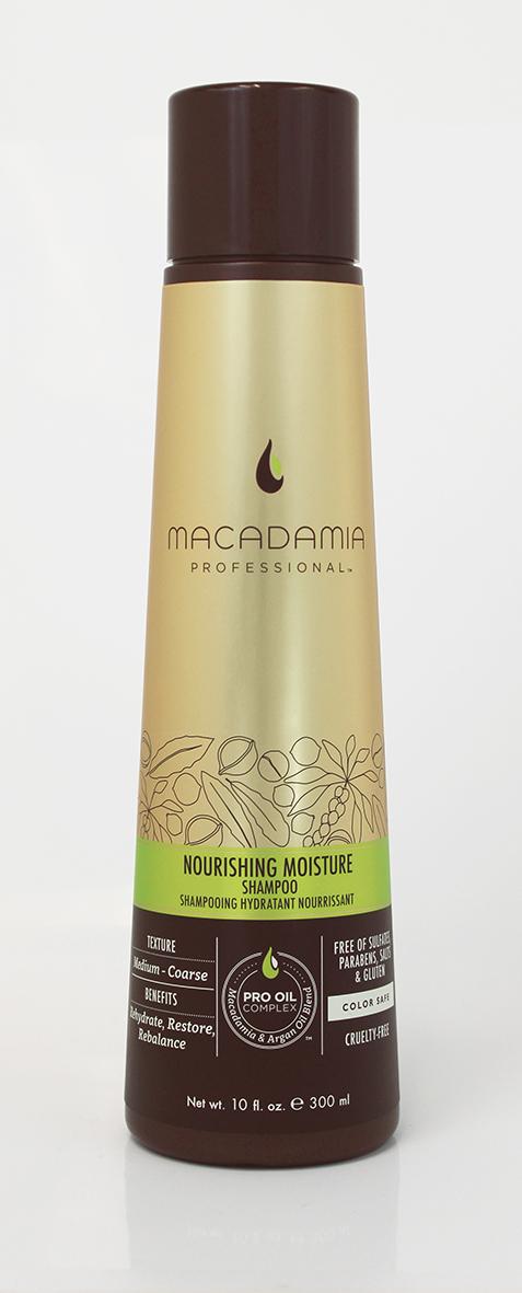 Macadamia Professional Шампунь питательный для всех типов волос, 300 мл