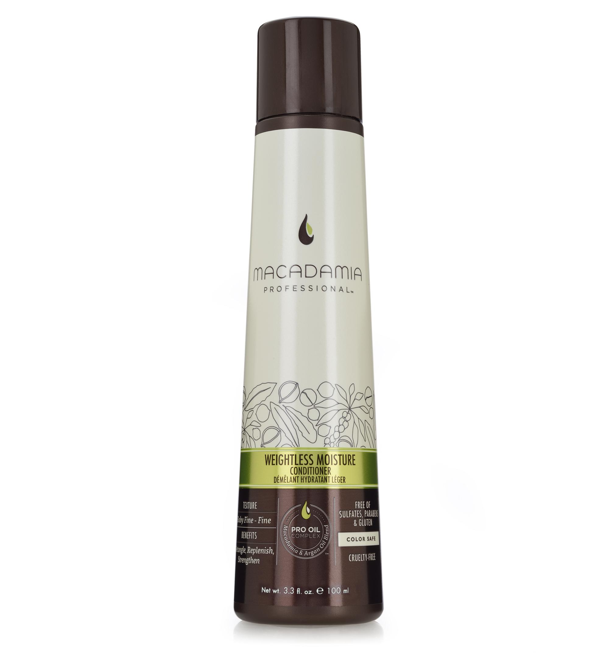 Macadamia Professional Кондиционер увлажняющий для тонких волос, 100 мл