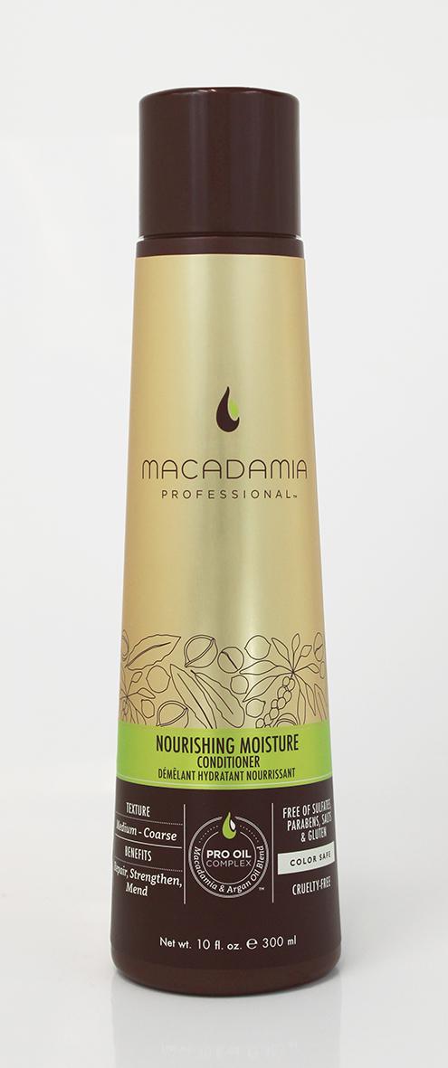 Macadamia Professional Кондиционер питательный для всех типов волос, 300 мл200200Роскошная формула кондиционера Macadamia Professional с эксклюзивным комплексом Pro Oil Complex с маслами макадамии и арганы, масла авокадо, лесного ореха способствуют глубокому восстановлению и увлажнению волос и кожи головы. Сочетание коллагена и аминокислот шелка укрепляют полотно волоса. Обеспечивает мягкость, блеск и защиту от негативного действия УФ-лучей.