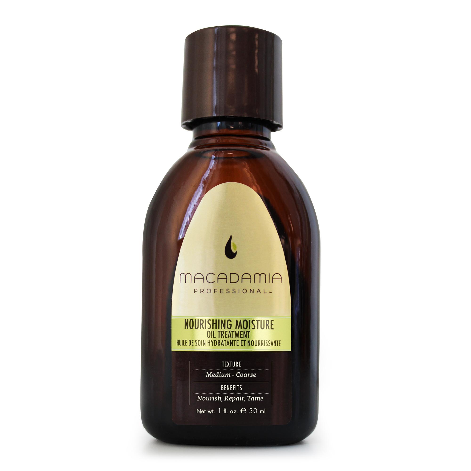 Macadamia Professional Уход восстанавливающий с маслом арганы и макадамии, 30 мл400101Уход-масло Macadamia Professional с эксклюзивным комплексом Pro Oil Complex моментально проникает в структуру волос, не утяжеляя их. Увлажняет, придавая мягкость и блеск волосам, обеспечивает защиту. Витамин Е интенсивно питает, убирает эффект пушистости, оставляя волосы ультра гладкими, предотвращает спутывание. Применение масла сокращает время сушки феном и обеспечивает натуральную УФ - защиту. Предотвращает потерю интенсивности и насыщенности цвета окрашенных волос.