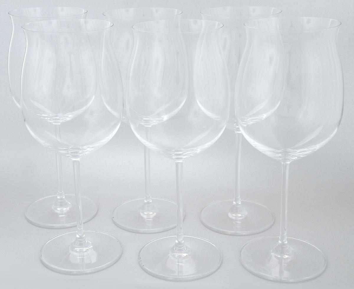 Набор бокалов Pasabahce Vintage, 725 мл, 6 шт66127NНабор Pasabahce Vintage состоит из шести бокалов, выполненных из прочного натрий-кальций-силикатного стекла. Изделия оснащены высокими ножками. Бокалы предназначены для подачи вина. Они сочетают в себе элегантный дизайн и функциональность. Благодаря такому набору пить напитки будет еще вкуснее. Набор бокалов Pasabahce Vintage прекрасно оформит праздничный стол и создаст приятную атмосферу за романтическим ужином. Такой набор также станет хорошим подарком к любому случаю. Можно мыть в посудомоечной машине и использовать в холодильнике. Диаметр бокала по верхнему краю: 8,4 см. Высота бокала: 24,4 см.