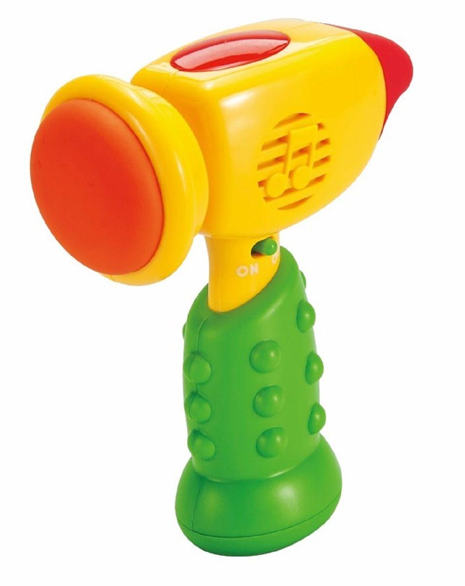 Mommy Love Развивающая игрушка Молоточек цвет желтый зеленый