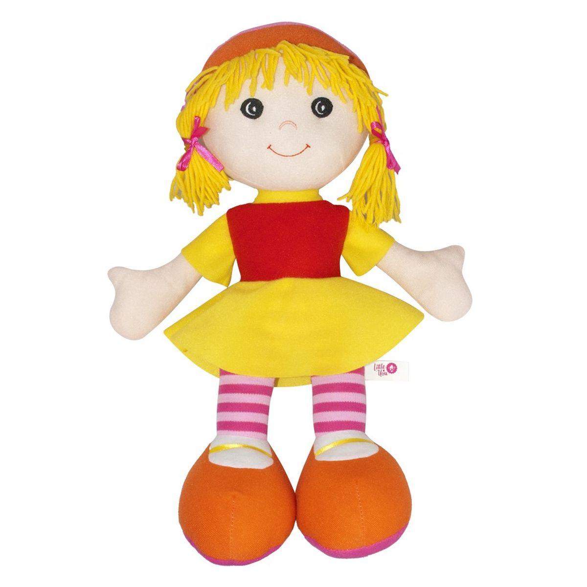 Little You Кукла ДжейнB25180LYПриятная на ощупь, симпатичная мягкая кукла. Яркая, жизнерадостная. Кукла подарит весёлое настроение и станет для ребёнка надёжным другом.