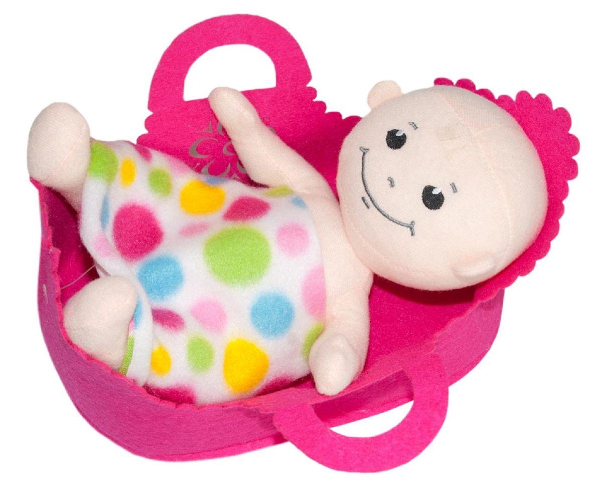 Little You Кукла Лелик в люлькеBAB01Приятный на ощупь, симпатичный мягкий малыш. Лелик в люльке подарит весёлое настроение и станет для ребёнка любимым другом. В комплекте есть удобная люлька с ручкой, в которую легко помещается кукла.