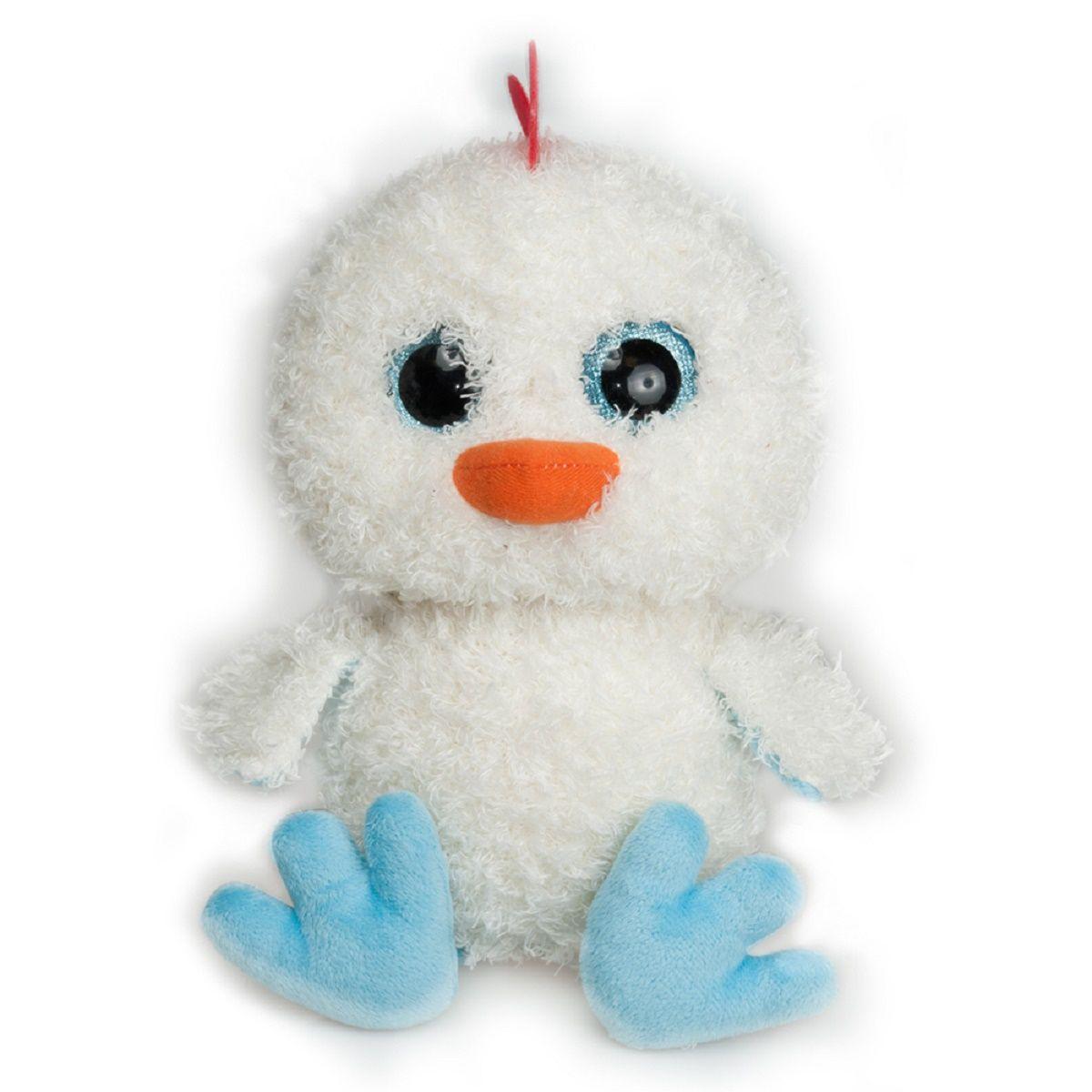 Fancy Мягкая игрушка Цыпленок-глазастик CNPB0CNPB0Детская подарочная игрушка. Яркий милый образ.