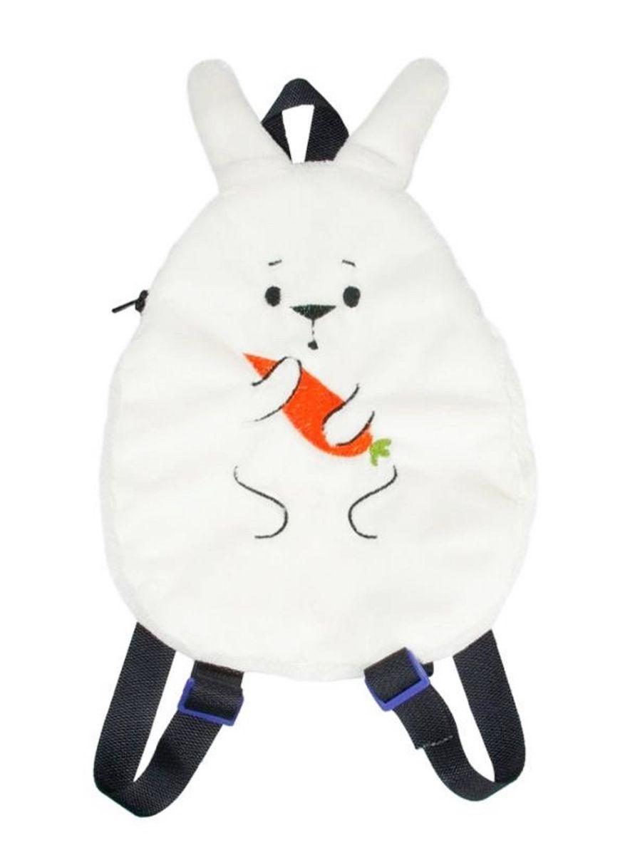 Fancy Мягкая игрушка-рюкзак ЗаяRAZ01Детская сумка-рюкзак