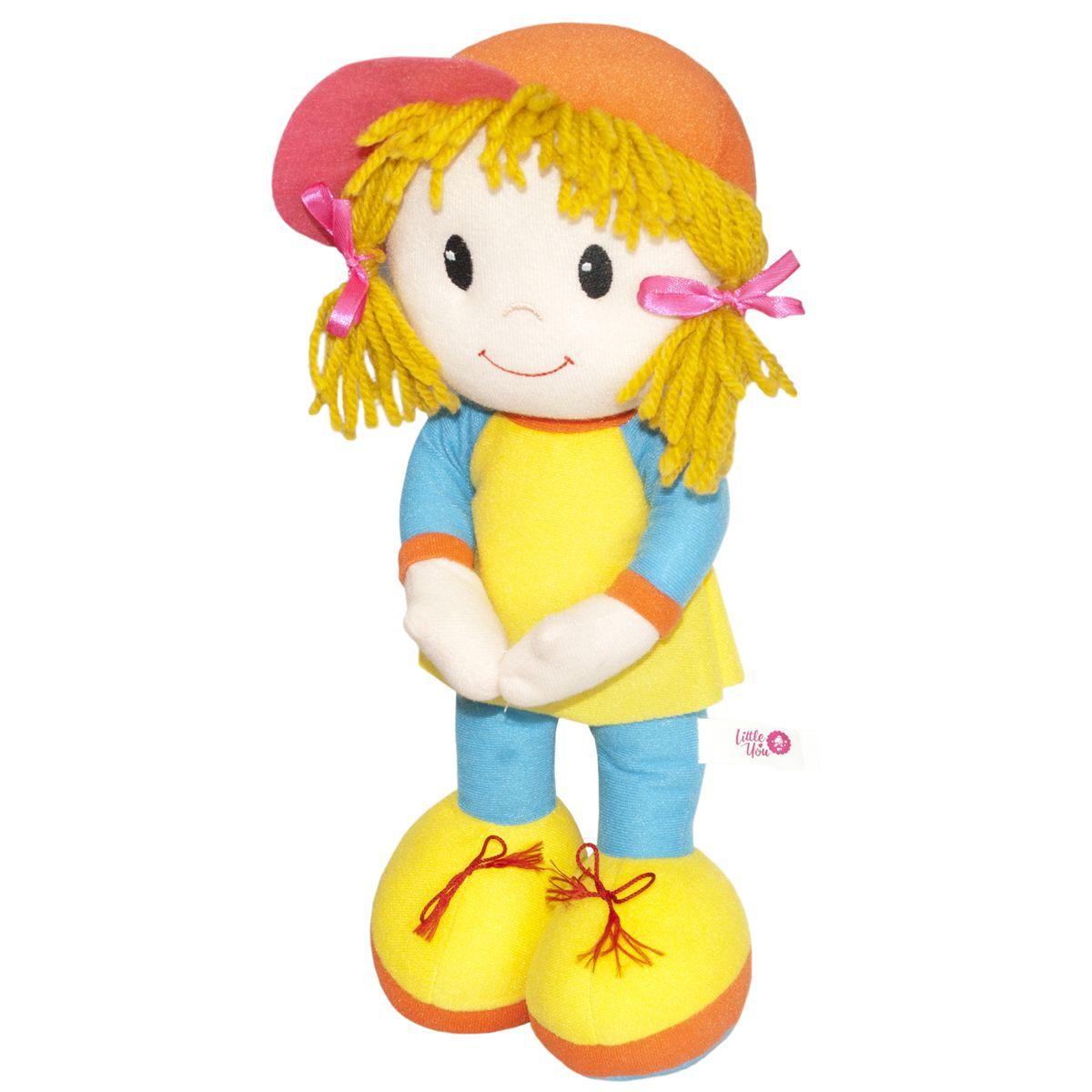 Little You Кукла КейтT3990LYПриятная на ощупь, симпатичная мягкая кукла. Яркая, жизнерадостная. Кукла подарит весёлое настроение и станет для ребёнка надёжным другом.