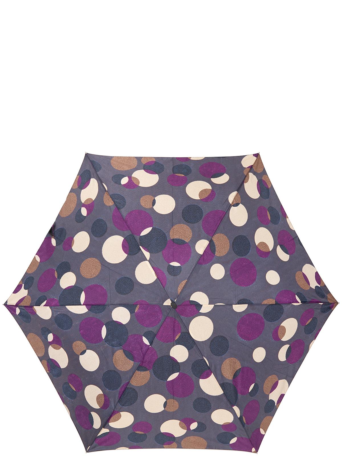 Зонт женский Labbra, цвет: серый, фиолетовый. A3-05-LF102A3-05-LF102Женский зонт-автомат торговой марки LABBRA. Купол: 100% полиэстер, эпонж. Материал каркаса: сталь + алюминий + фибергласс. Материал ручки: пластик. Длина изделия - 28 см. Диаметр купола - 96 см.