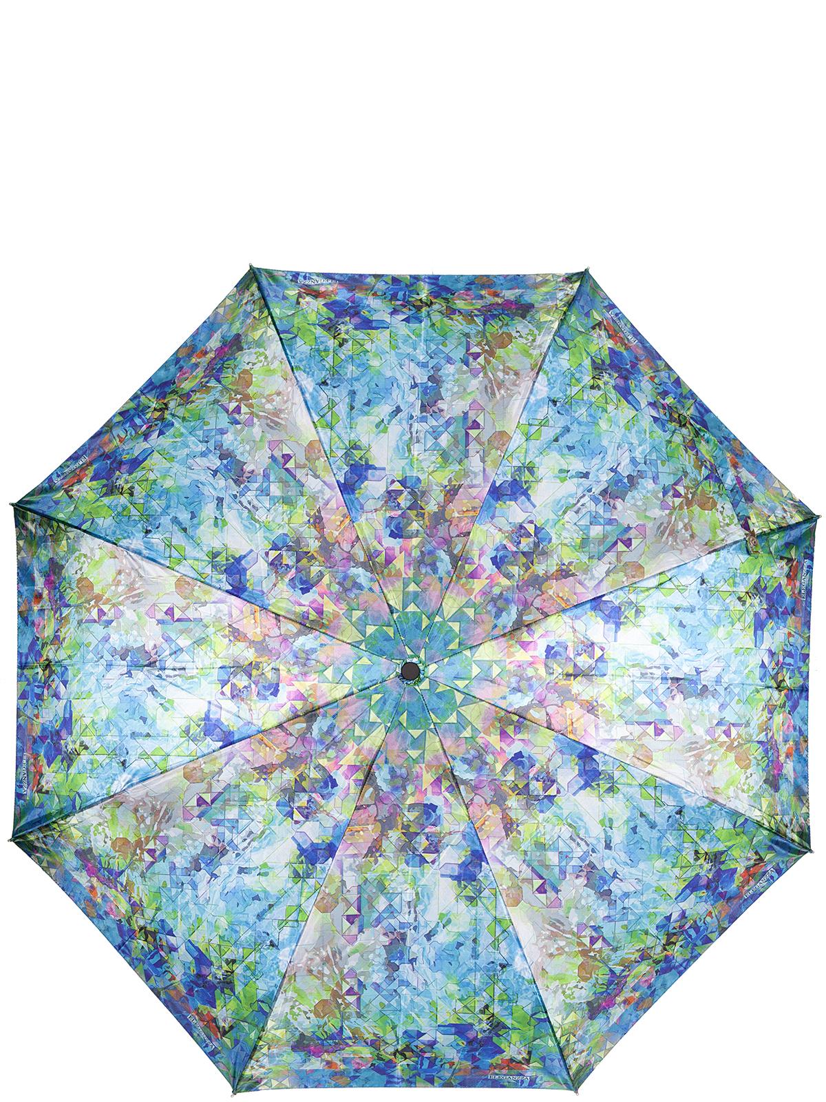 Зонт женский Eleganzza, цвет: зеленый. A3-05-0312LSA3-05-0312LSЖенский зонт-автомат торговой марки Eleganzza с каркасом Smart, который позволяет без особых усилий складывать зонт, не позволяя стержню вылетать обратно. Купол: 100% полиэстер, сатин. Материал каркаса: сталь + фибергласс. Материал ручки: пластик. Длина изделия - 30 см. Диаметр купола - 105 см. Система Smart, не позволяет стержню при сложении вылететь обратно, это облегчает сложение зонта! При сложении есть характерный звук-треск, как трещетка. Примечание: зонт не откроется с кнопки если его не закрыть до щелчка.