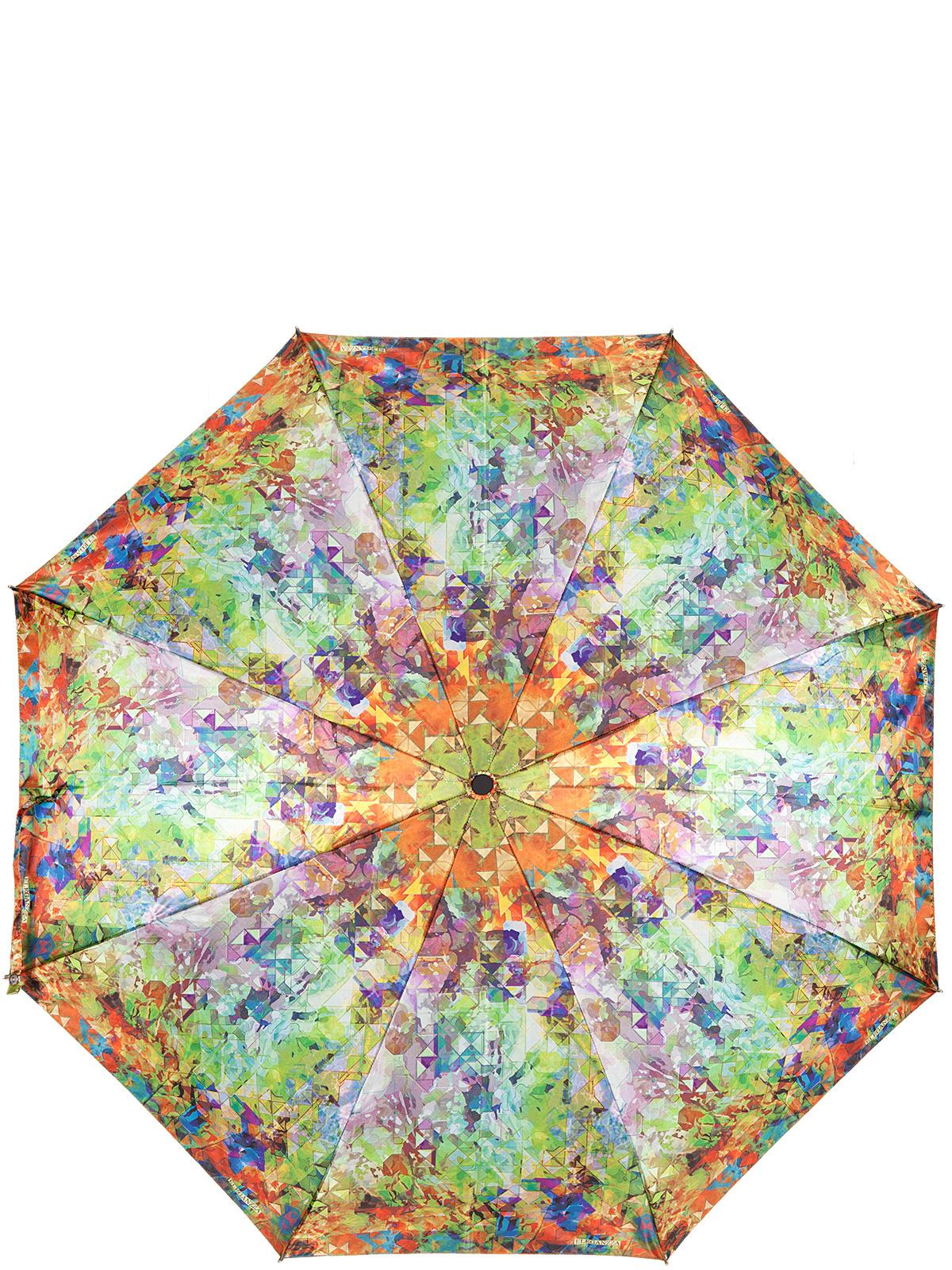 Зонт женский Eleganzza, цвет: оранжевый. A3-05-0312LSA3-05-0312LSЖенский зонт-автомат торговой марки Eleganzza с каркасом Smart, который позволяет без особых усилий складывать зонт, не позволяя стержню вылетать обратно. Купол: 100% полиэстер, сатин. Материал каркаса: сталь + фибергласс. Материал ручки: пластик. Длина изделия - 30 см. Диаметр купола - 105 см. Система Smart, не позволяет стержню при сложении вылететь обратно, это облегчает сложение зонта! При сложении есть характерный звук-треск, как трещетка. Примечание: зонт не откроется с кнопки если его не закрыть до щелчка.