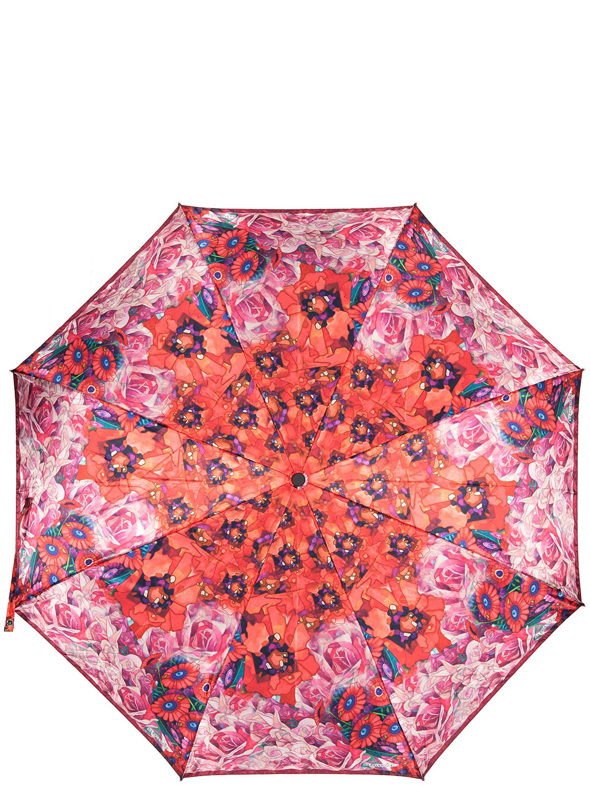 Зонт женский Eleganzza, цвет: красный. A3-05-0313LSA3-05-0313LSЖенский зонт-автомат торговой марки Eleganzza с каркасом Smart, который позволяет без особых усилий складывать зонт, не позволяя стержню вылетать обратно. Купол: 100% полиэстер, сатин. Материал каркаса: сталь + фибергласс. Материал ручки: пластик. Длина изделия - 30 см. Диаметр купола - 105 см. Система Smart, не позволяет стержню при сложении вылететь обратно, это облегчает сложение зонта! При сложении есть характерный звук-треск, как трещетка. Примечание: зонт не откроется с кнопки если его не закрыть до щелчка.