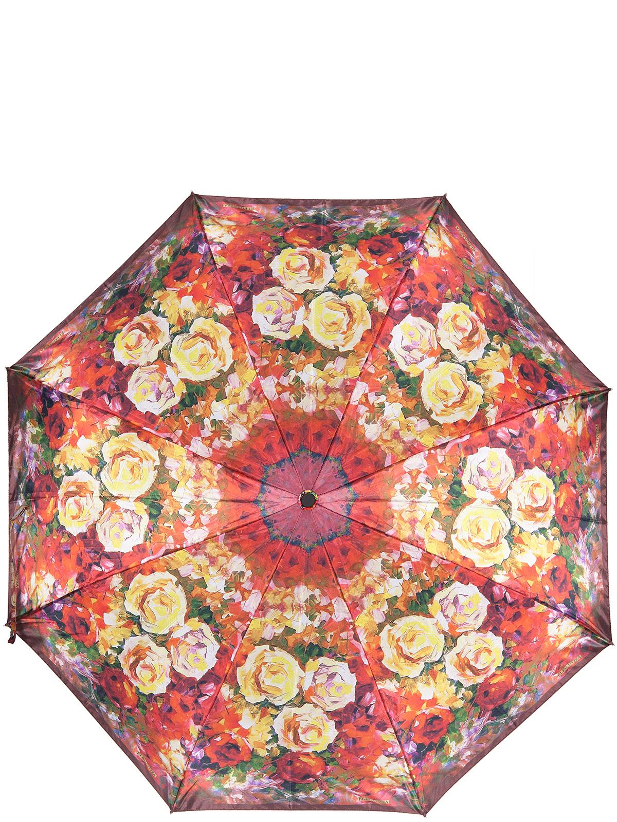 Зонт женский Eleganzza, цвет: красный, желтый. A3-05-0319LSA3-05-0319LSЖенский зонт-автомат торговой марки Eleganzza с каркасом Smart, который позволяет без особых усилий складывать зонт, не позволяя стержню вылетать обратно. Купол: 100% полиэстер, эпонж. Материал каркаса: сталь + фибергласс. Материал ручки: пластик. Длина изделия - 30 см. Диаметр купола - 105 см. Система Smart, не позволяет стержню при сложении вылететь обратно, это облегчает сложение зонта! При сложении есть характерный звук-треск, как трещетка. Примечание: зонт не откроется с кнопки если его не закрыть до щелчка.