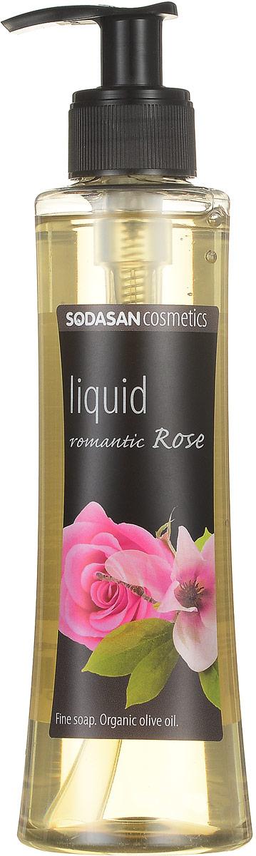 Жидкое мыло Sodasan Романтическая роза, 250 мл мыло жидкое sodasan травяной сандал 250 мл