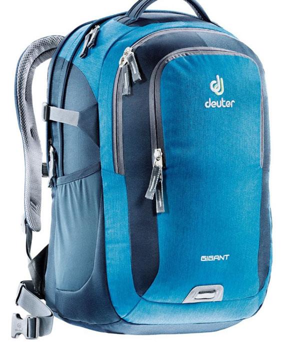 Рюкзак Deuter 2015 Daypacks Gigant, цвет: синий, 32л80424_3019Когда вам необходимо иметь все при себе, когда вы собираетесь в университет, тот тут Gigant спешит на помощь. Все необходимые документы и книги с легкостью уместятся в этом рюкзаке. Также есть наличие большого мягкого отделения для Laptop. Рюкзак имеет анатомическую форму, вентиляцию спины, мягкие, регулируемые лямки.Несмотря на то, что у вас максимальная загрузка рюкзака, вы все еще по прежнему с комфортом можете перемещаться от одной лекции к другой. Когда в университете накопилось множество необходимых дел, модель Deuter Gigant поможет вам легко справиться с горой бумаг, книг и папок. А если вам не нужно нести ноутбук, то в большое основное отделение на мягкой подкладке можно поместить еще больше груза. Благодаря эргономичным мягким плечевым лямкам и системой вентиляции спины Airstripes даже тяжелый груз удобно носить. Особенности: - секционное отделение для компьютерных принадлежностей - большое отделение под ноутбук 17 или iPad (полностью защищенное жесткими стенками) -...