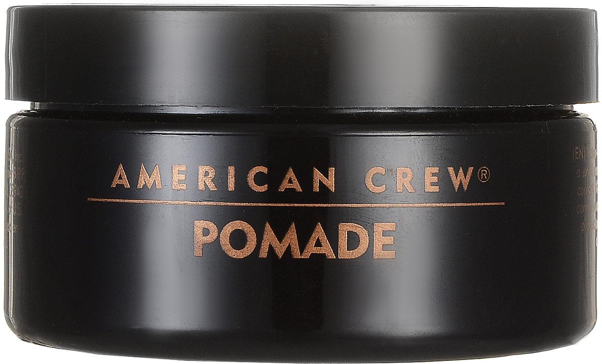 American Crew Помада со средней фиксацией и высоким уровнем блеска для укладки волос Pomade 85 г7209384000American Crew Pomade Помада со средней фиксацией и высоким уровнем блеска для укладки волос обеспечивает среднюю фиксацию волос и высокий уровень блеска. В состав средства входит такой компонент, как ланолин (животный воск), который придаёт волосам необходимую стойкость от воздействия внешних факторов. Также помада со средней фиксацией Американ Крю содержит сахарозу, которая быстро и эффективно увлажняет волосы, защищает кожу головы от сухости при использовании фена. Данный продукт компании American Crew является современной альтернативой гелям для укладки волос и прекрасно подходит для ухода за кучерявыми волосами, не наносит никакого вреда волосяной структуре. Помада Американ Crew с лёгкостью позволит создать необходимую причёску, при этом обеспечивая отличную стойкость волос. Степень фиксации: средняя фиксация.