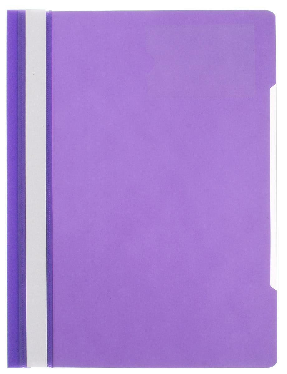 Бюрократ Папка-скоросшиватель цвет фиолетовый