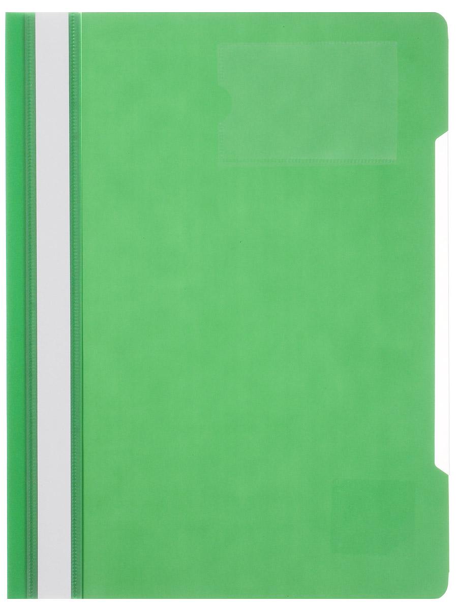Бюрократ Папка-скоросшиватель цвет зеленый