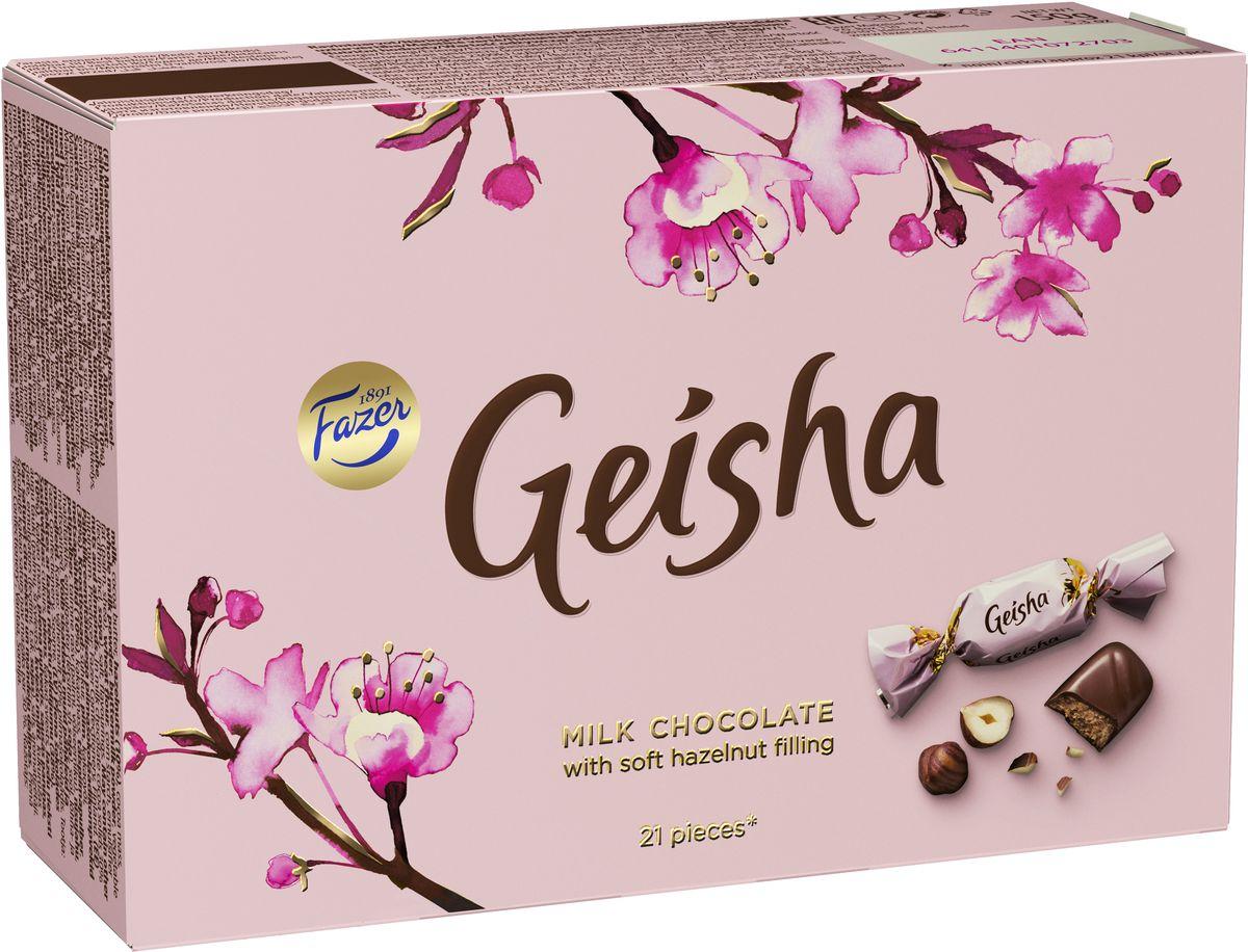 Geisha Конфеты шоколадные c тертым орехом, 150 г