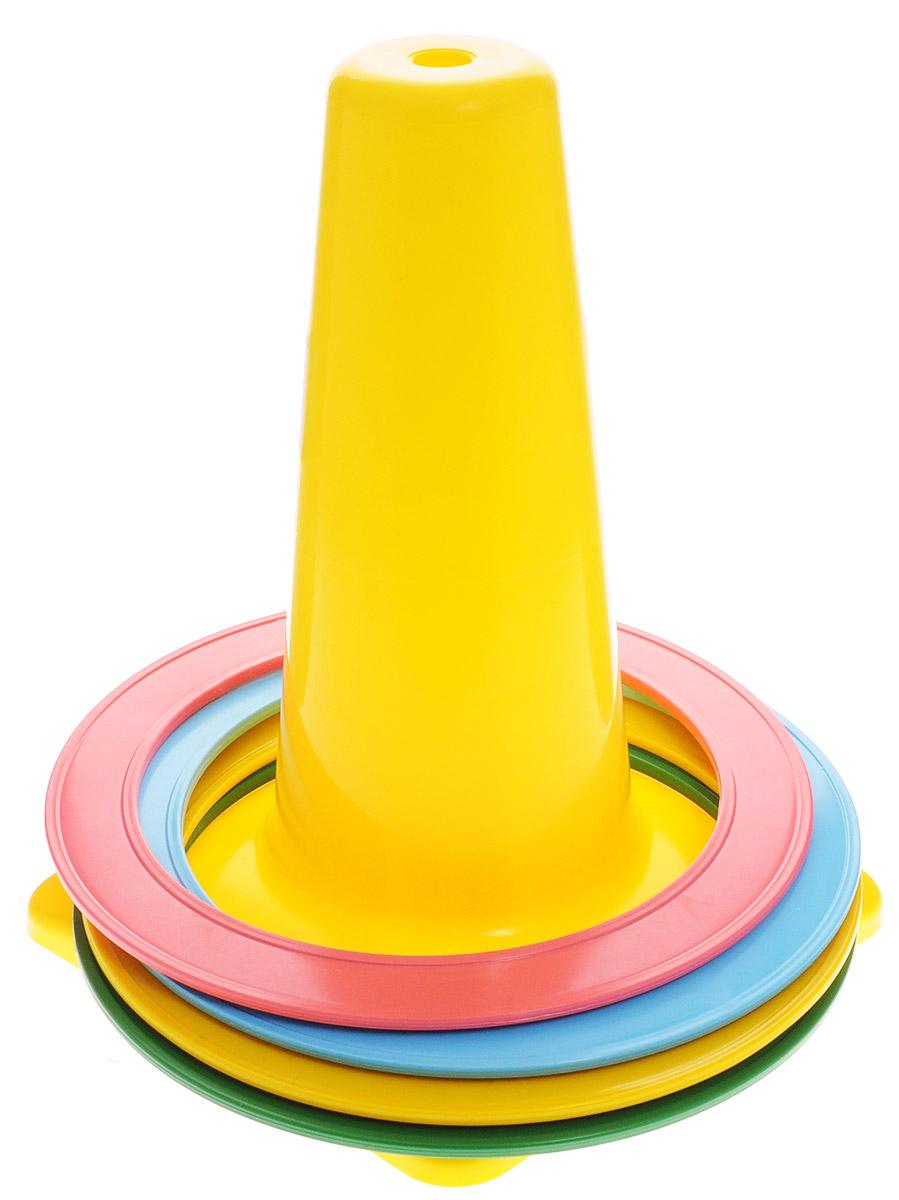 Аэлита Игровой набор Бросайка цвет желтый