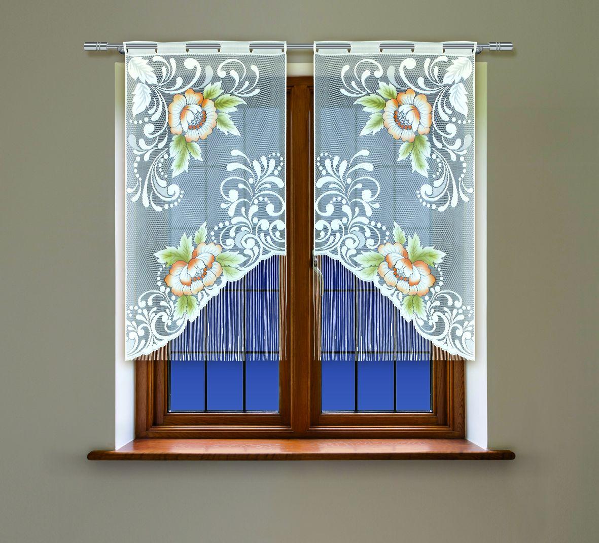 Комплект гардин Haft, на петлях, цвет: белый, высота 160 см, 2 шт. 4219С4219С/60Воздушные гардины Haft великолепно украсят любое окно. Комплект состоит из двух гардин, выполненных из полиэстера. Изделие имеет оригинальный дизайн и органично впишется в интерьер помещения. Комплект крепится на карниз при помощи петель.