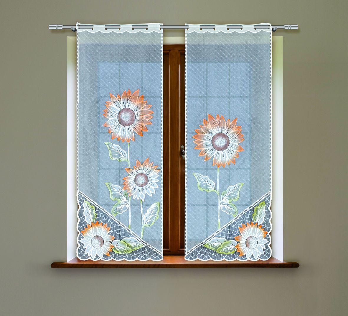 Комплект гардин Haft, на петлях, цвет: белый, высота 160 см, 2 шт. 5050С5050С/60Воздушные гардины Haft великолепно украсят любое окно. Комплект состоит из двух гардин, выполненных из полиэстера. Изделие имеет оригинальный дизайн и органично впишется в интерьер помещения. Комплект крепится на карниз при помощи петель.