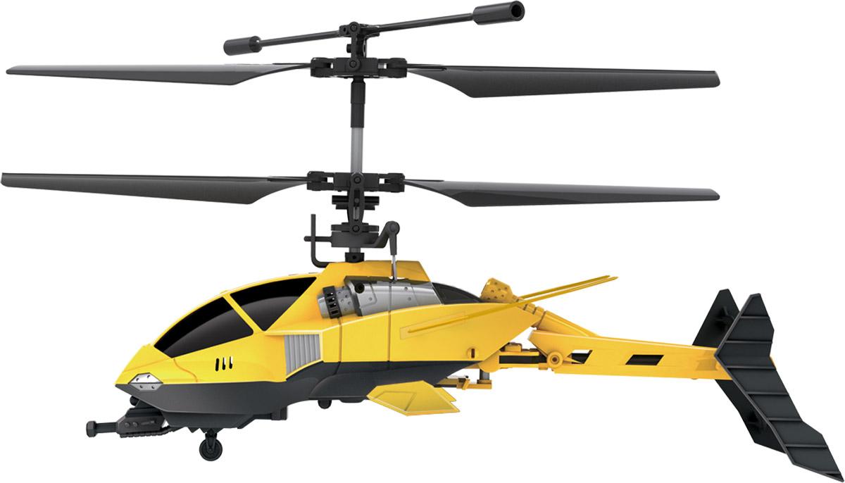 От винта! Вертолет на инфракрасном управлении трансформация хвостовой части87233Модель с дистанционным управлением и встроенным электронным гироскопом. (Улучшенная гироскопическая система обеспечивает стабильность положения вертолета воздухе.) Вертолет двигается вверх/вниз, вперед/назад, влево/вправо, выполняет вращение на 360 градусов. Игрушка способствует развитию моторики и логики, учит координации в пространстве, тренирует реакцию и сообразительность. Система трансформации обеспечивает складывание и раскладывание хвостовой части вертолета во время полета. Несущий винт автоматически отключается вместе с системой питания вертолета при ударах о препятствия. Простое управление (на рычажках и кнопки для складывания/раскладывания хвостовой части, индикаторы питания/зарядки). Технические характеристики: Гироскоп. Количество каналов: 3,5. Частота управления: А, В, С. Время полета: 7 мин. Аккумулятор: 3.7В 220мА*ч литиево-полимерный. Время подзарядки: 40 мин. Батарейки для пульта: 6 батареек типа АА. Радиус действия пульта: до 10 м. Длина...