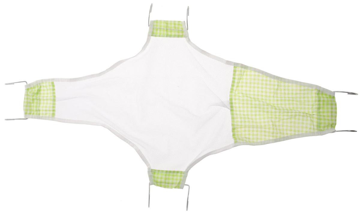 Фея Подставка для купания Гамак Клетка цвет светло-зеленый белый