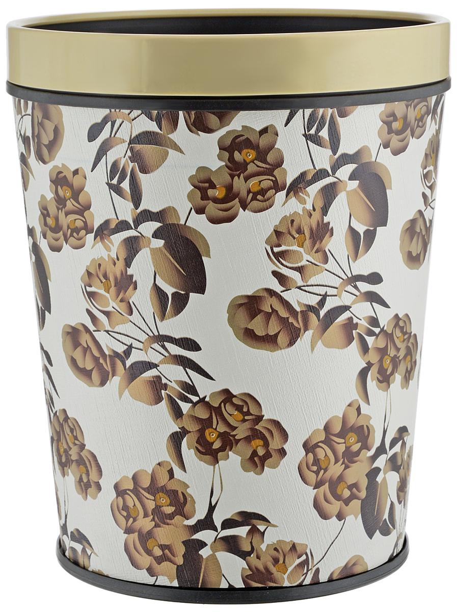 Ведро для мусора Изумруд, с клипсой, цвет: коричневый, белый, 10 л. 704704_коричневый/белыйВедро для мусора Изумруд изготовлено из прочного пластика, не боится ударов и долгих лет использования. Изделие оснащено съемной клипсой для закрепления пакета. Такое ведро прекрасно подойдет для различных хозяйственных нужд: для уборки или хранения мусора. Диаметр ведра (по верхнему краю): 24,5 см. Высота: 30,5 см.