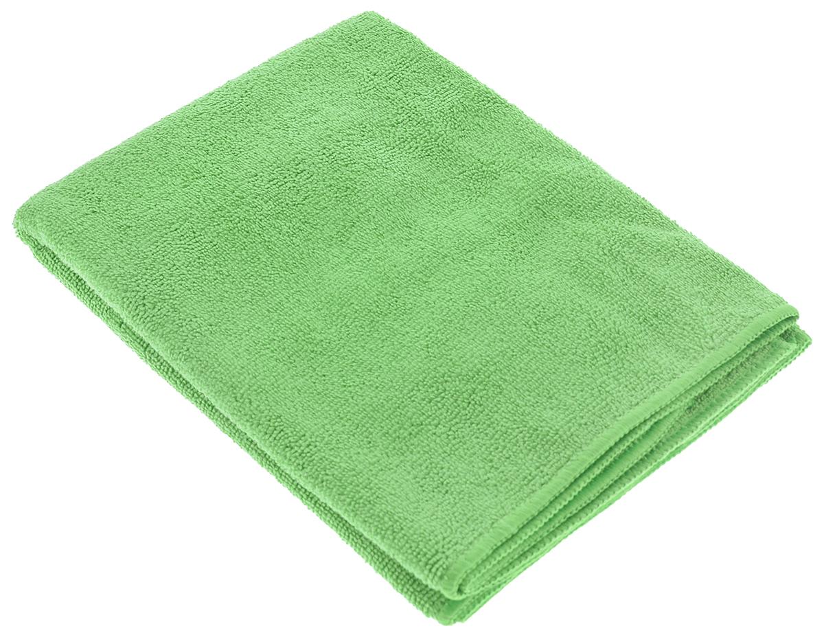 Тряпка-салфетка для пола Meule Premium, цвет: зеленый, 50 х 70 см4607009241180Салфетка Meule Premium выполнена из высококачественной микрофибры. Изделие может использоваться как для сухой, так и для влажной уборки. Деликатно очищает любые типы пола, не оставляет следов и разводов. Идеально впитывает влагу, удаляет загрязнения и пыль. Сохраняет свои свойства после стирки.