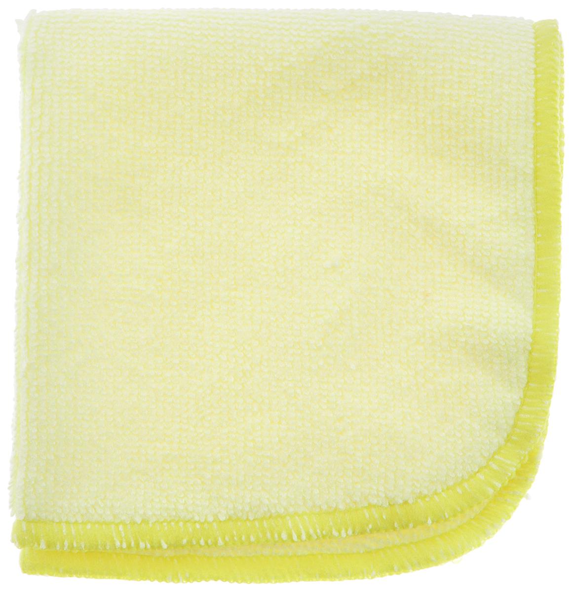Салфетка для уборки Meule Standard, универсальная, цвет: светло-желтый, 25 х 25 см4607009241104Салфетка Meule Standard выполнена из высококачественной микрофибры (80% полиэстер, 20% полиамид). Изделие может использоваться как для сухой, так и для влажной уборки. Деликатно очищает любые виды поверхности, не оставляет следов и разводов. Идеально впитывает влагу, удаляет загрязнения и пыль, а также подходит для протирки полированной мебели. Сохраняет свои свойства после стирки.