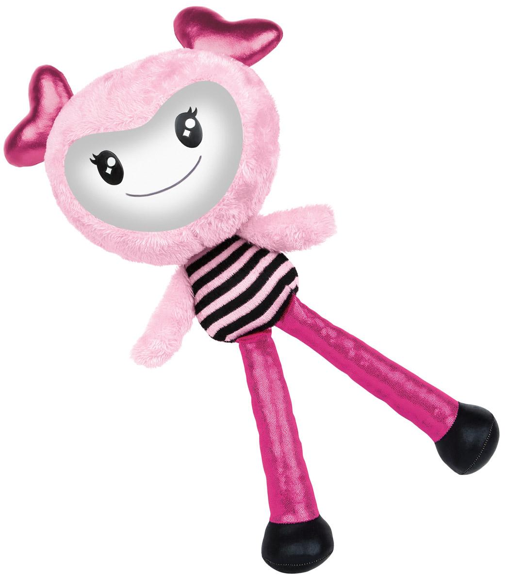 Brightlings Интерактивная игрушка цвет розовый52300_розовыйИнтерактивная игрушка Brightlings, созданная специально для девочек, выглядит очень ярко, красочно и необычно. У игрушки три режима игры: разговор, повторение, музыка. Она умеет произносить более 100 фраз! Игрушка реагирует на действия: так, например, если погладить ее по спине, она скажет, что это очень мило, а если потрясти ее - выразит недовольство и попросит прекратить. Таким образом, игрушка сможет стать для девочки самой настоящей, верной подружкой! В режиме музыки игрушка проигрывает мелодии в различных стилях (опера, поп-музыка, рок-н-ролл, джаз, йодль, битбокс). Меняя положение игрушки, ребенок переключает мелодии - таким образом, девочка сможет почувствовать себя самым настоящим ди-джеем! Рекомендуется докупить 3 батарейки напряжением 1,5V типа ААА (товар комплектуется демонстрационными).