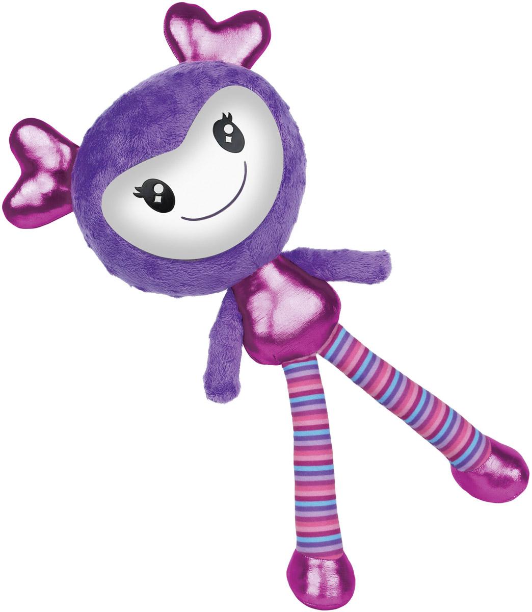 Brightlings Интерактивная игрушка цвет сиреневый52300_сиреневыйИнтерактивная игрушка Brightlings создана специально для девочек, она выглядит очень ярко, красочно и необычно. У игрушки 3 режима игры: разговор, повторение, музыка. Она умеет произносить более 100 фраз! Реагирует на действия: так, например, если погладить игрушку по спине, она скажет, что это очень мило. А если потрясти ее - выразит недовольство и попросит прекратить. Таким образом, игрушка сможет стать для девочки самой настоящей, верной подружкой! В режиме музыки игрушка проигрывает мелодии в различных стилях (опера, поп, рок-н-ролл, джаз, йодль, битбокс и другие). Меняя положение игрушки, ребенок переключает мелодии - таким образом, девочка сможет почувствовать себя самым настоящим ди-джеем! Рекомендуется докупить 3 батарейки напряжением 1,5V типа ААA (товар комплектуется демонстрационными).