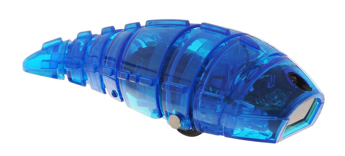 Pilotage Микро-робот Larva цвет синийRC24872Микро-робот Pilotage Larva, управляемый с помощью инфракрасного датчика, за одну секунду может преодолевать большое расстояние! Ларва по своему внешнему виду напоминает личинку. Она очень плавно скользит по поверхности, при этом её хвост совершает движения из стороны в сторону. Благодаря инфракрасному датчику, расположенному в передней части корпуса, Ларва не сталкивается с препятствиями на своем пути, а избегает их. Если на ее пути встречается препятствие, Ларва плавно и грациозно развернется и быстро продолжит свой путь в другом направлении. Микро-робот работает от 3 батареек типа AG13 (входят в комплект).