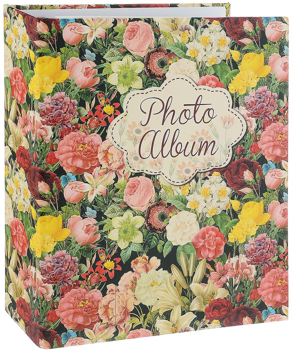 Фотоальбом Magic Home Райский сад, цвет: зеленый, розовый, желтый, на 100 фотографий, 16 х 21 см41292Фотоальбом Magic Home Райский сад поможет красиво оформить ваши самые интересные фотографии. Обложка, выполненная из толстого картона, оформлена красивым изображением. Внутри содержится блок из 50 белых листов с креплением на кольцах. Альбом рассчитан на 100 фотографий формата 16 х 21 см. Нам всегда так приятно вспоминать о самых счастливых моментах жизни, запечатленных на фотографиях. Поэтому фотоальбом является универсальным подарком к любому празднику. Количество листов: 50 шт. Размер фотоальбома: 23,5 х 28,5 см.