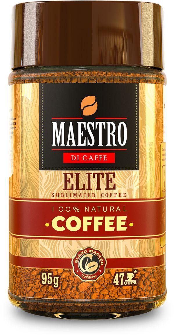 Maestro Di Caffe Elite кофе растворимый сублимированный, 95 г