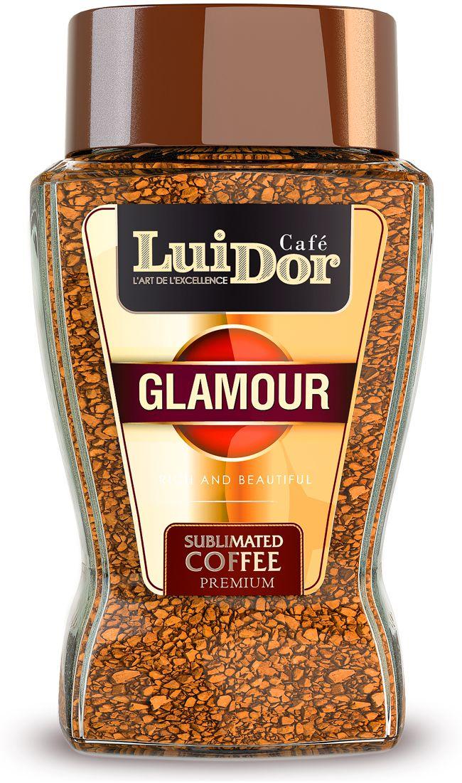 Luidor Glamour кофе растворимый сублимированный, 95 г