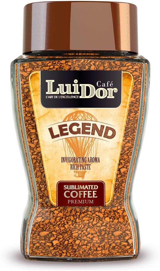 Luidor Legend кофе растворимый сублимированный, 95 г