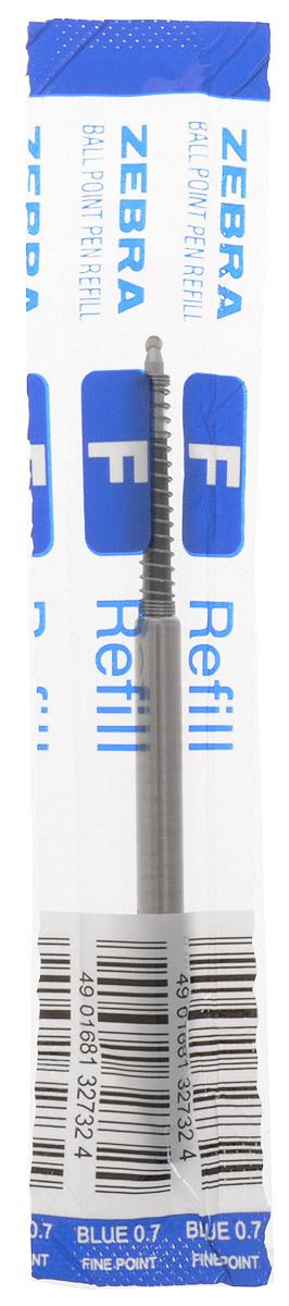 Zebra Стержень для шариковых ручек цвет синий310 106020Стержень для шариковых ручек Zebra станет незаменимыми атрибутом учебы или работы. Это отличный вариант для автоматических шариковых ручек. Поддерживаемые модели ручек: F301, F301 Ultra, F301 Compact, F701, ZEBRA 710, SLIDE, AIRFIT 500, Mini 300. Толщина пишущего узла стержня 0,7 мм. Надежный стержень строгого классического дизайна станет верным помощником для студента и офисного работника.