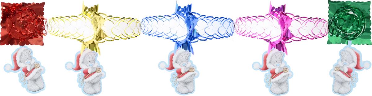 Гирлянда новогодняя Winter Wings Me To You. Мишка Тедди, с подвеской, длина 3 мMTY-N09006Новогодняя гирлянда Winter Wings Me To You. Мишка Тедди прекрасно подойдет для декора дома и праздничной елки. Украшение выполнено из ПВХ и бумаги в виде гирлянды с подвеской с изображением мишки Тедди. С помощью специальной петельки гирлянду можно повесить в любом понравившемся вам месте. Легко складывается и раскладывается. Новогодние украшения несут в себе волшебство и красоту праздника. Они помогут вам украсить дом к предстоящим праздникам и оживить интерьер по вашему вкусу. Создайте в доме атмосферу тепла, веселья и радости, украшая его всей семьей. Длина гирлянды: 3 м.