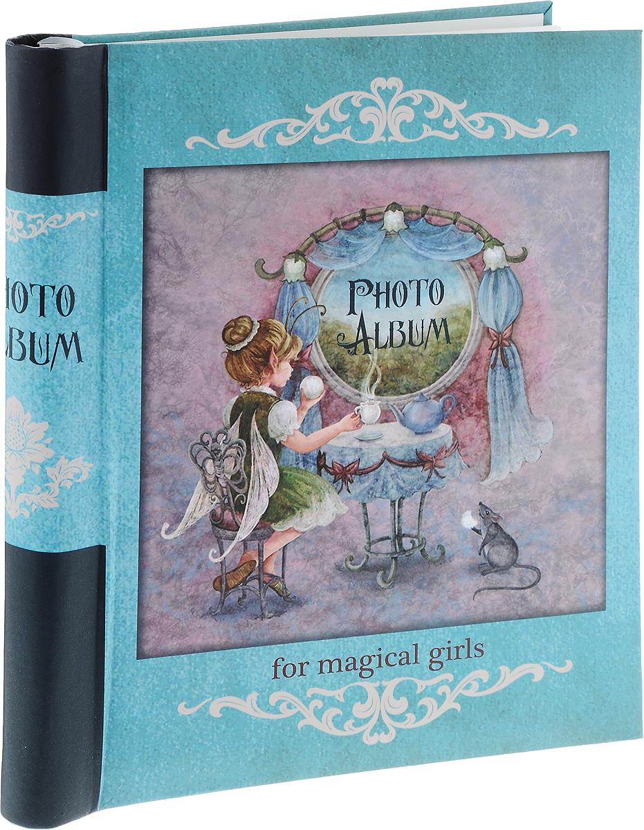 Фотоальбом Magic Home Волшебное чаепитие, цвет: бирюзовый, розовый, черный, на 20 фотографий, 28,9 x 20,6 см41272Фотоальбом Magic Home Волшебное чаепитие поможет красиво оформить ваши самые интересные фотографии. Обложка, выполненная из толстого картона, оформлена красивым изображением. Внутри содержится блок из 10 белых листов с креплением на гребне. Альбом рассчитан на 20 фотографий формата 28,9 x 20,6 см. Нам всегда так приятно вспоминать о самых счастливых моментах жизни, запечатленных на фотографиях. Поэтому фотоальбом является универсальным подарком к любому празднику. Количество листов: 10 шт. Размер фотоальбома: 29 х 24 см.