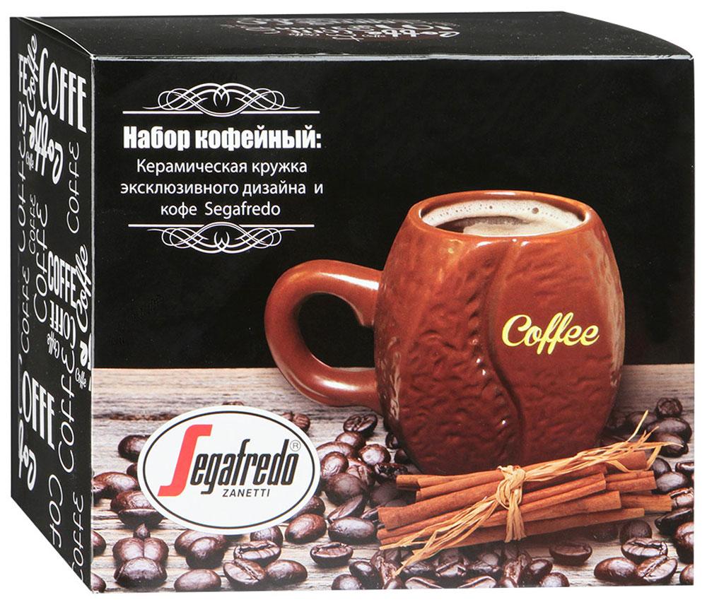 Для истинных ценителей натурального кофе мы разработали подарочный набор, включающий в себя оригинальную дизайнерскую кружку, выполненную в форме настоящего кофейного зерна, и упаковку прекрасного молотого кофе.
