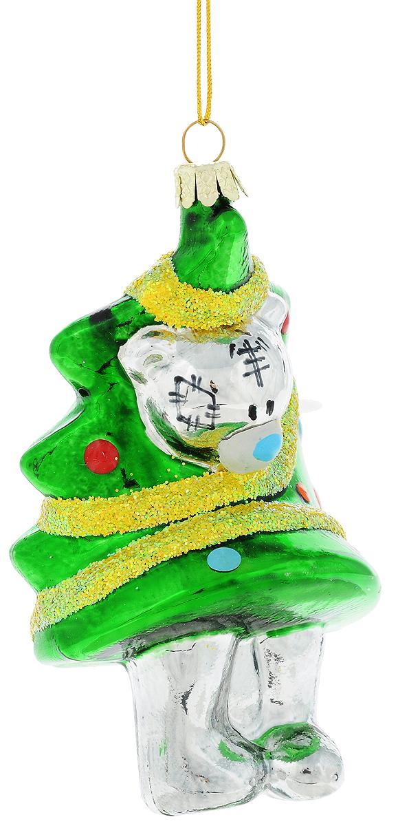 Украшение новогоднее подвесное Winter Wings Me To You. Мишка Тедди, высота 11 смMTY-N07006Новогоднее украшение Winter Wings Me To You. Мишка Тедди отлично подойдет для декорации вашего дома и новогодней ели. Изделие, выполненное из стекла, оснащено специальной петелькой для подвешивания. Елочная игрушка - символ Нового года. Она несет в себе волшебство и красоту праздника. Создайте в своем доме атмосферу веселья и радости, украшая всей семьей новогоднюю елку нарядными игрушками, которые будут из года в год накапливать теплоту воспоминаний.