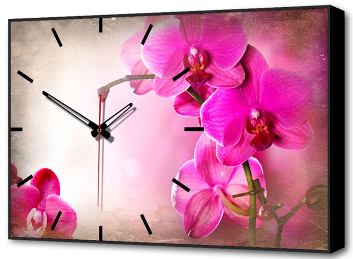 Часы-картина Toplight Цветы, 60 х 37 см. TL-C5020TL-C5020Настенные часы-картина Toplight Цветы выполнены из бумаги и оргалита, рама из МДФ. Часы имеют кварцевый механизм с плавным, бесшумным ходом и три стрелки: часовую, минутную и секундную. Современные технологии и цифровая печать, используемые в производстве, делают постер устойчивым к выцветанию и обеспечивают исключительное качество произведений. Благодаря наличию необходимых креплений в комплекте установка не займет много времени. Часы-картина Toplight - это прекрасная возможность создать яркий акцент при оформлении любого помещения. Правила ухода: можно протирать сухой, мягкой тканью. Часы работают от 1 батарейки типа АА (не входит в комплект).