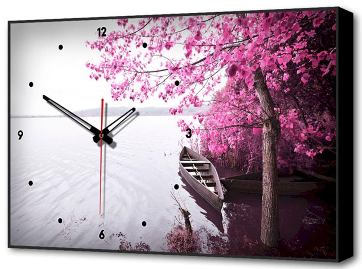 Часы-картина Toplight Пейзаж, 60 х 37 см. TL-C5025TL-C5025Настенные часы-картина Toplight Пейзаж выполнены из бумаги и оргалита, рама из МДФ. Часы имеют кварцевый механизм с плавным, бесшумным ходом и три стрелки: часовую, минутную и секундную. Современные технологии и цифровая печать, используемые в производстве, делают постер устойчивым к выцветанию и обеспечивают исключительное качество произведений. Благодаря наличию необходимых креплений в комплекте установка не займет много времени. Часы-картина Toplight - это прекрасная возможность создать яркий акцент при оформлении любого помещения. Правила ухода: можно протирать сухой, мягкой тканью. Часы работают от 1 батарейки типа АА (не входит в комплект).