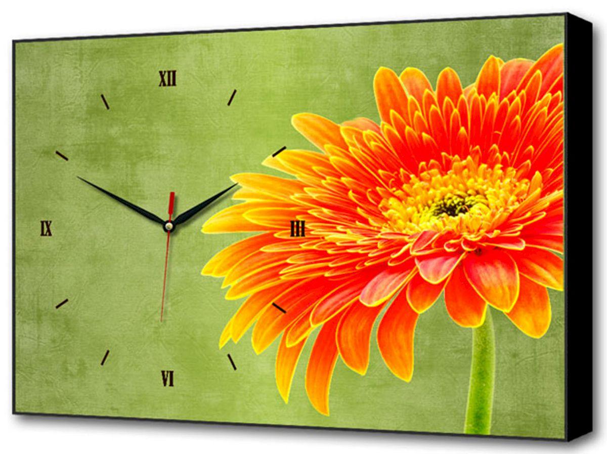 Часы-картина Toplight Цветы, 60 х 37 см. TL-C5032TL-C5032Настенные часы-картина Toplight Цветы выполнены из бумаги и оргалита, рама из МДФ. Часы имеют кварцевый механизм с плавным, бесшумным ходом и три стрелки: часовую, минутную и секундную. Современные технологии и цифровая печать, используемые в производстве, делают постер устойчивым к выцветанию и обеспечивают исключительное качество произведений. Благодаря наличию необходимых креплений в комплекте установка не займет много времени. Часы-картина Toplight - это прекрасная возможность создать яркий акцент при оформлении любого помещения. Правила ухода: можно протирать сухой, мягкой тканью. Часы работают от 1 батарейки типа АА (не входит в комплект).