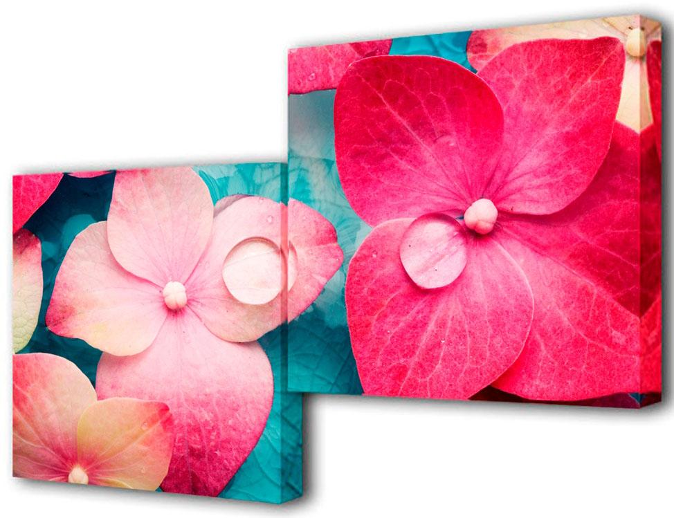 Картина модульная Toplight Цветы, 100 х 50 см. TL-M2009TL-M2009Модульная картина Toplight Цветы выполнена из синтетического полотна, подрамник из МДФ. Картина состоит из двух частей и выглядит очень аккуратно и эстетично благодаря такому способу оформления как галерейная натяжка. Подрамник исключает провисание полотна. Современные технологии, уникальное оборудование и цифровая печать, используемые в производстве, делают постер устойчивым к выцветанию и обеспечивают исключительное качество произведений. Благодаря наличию необходимых креплений в комплекте установка не займет много времени. Модульная картина - это прекрасная возможность создать яркий акцент при оформлении любого помещения. Изделие обязательно привлечет внимание и подарит немало приятных впечатлений своим обладателям. Правила ухода: можно протирать сухой, мягкой тканью. Рекомендованное расстояние между сегментами: 2 см. Толщина подрамника: 3 см.