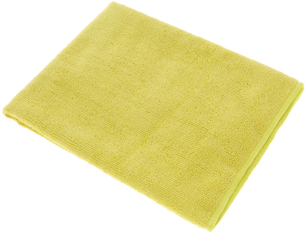 Тряпка-салфетка для пола Meule Premium, цвет: горчичный, 50 х 70 см4607009241180_горчичныйТряпка-салфетка Meule Premium выполнена из высококачественной микрофибры (80% полиэстер, 20% полиамид). Мягкая тряпка-салфетка очень большой плотности и большого размера, с хорошо выраженными ворсинками, предназначена для мытья любых типов полов. Идеально впитывает влагу, полирует поверхность, удаляет загрязнения и пыль. Легко стирается и долговечна в использовании.