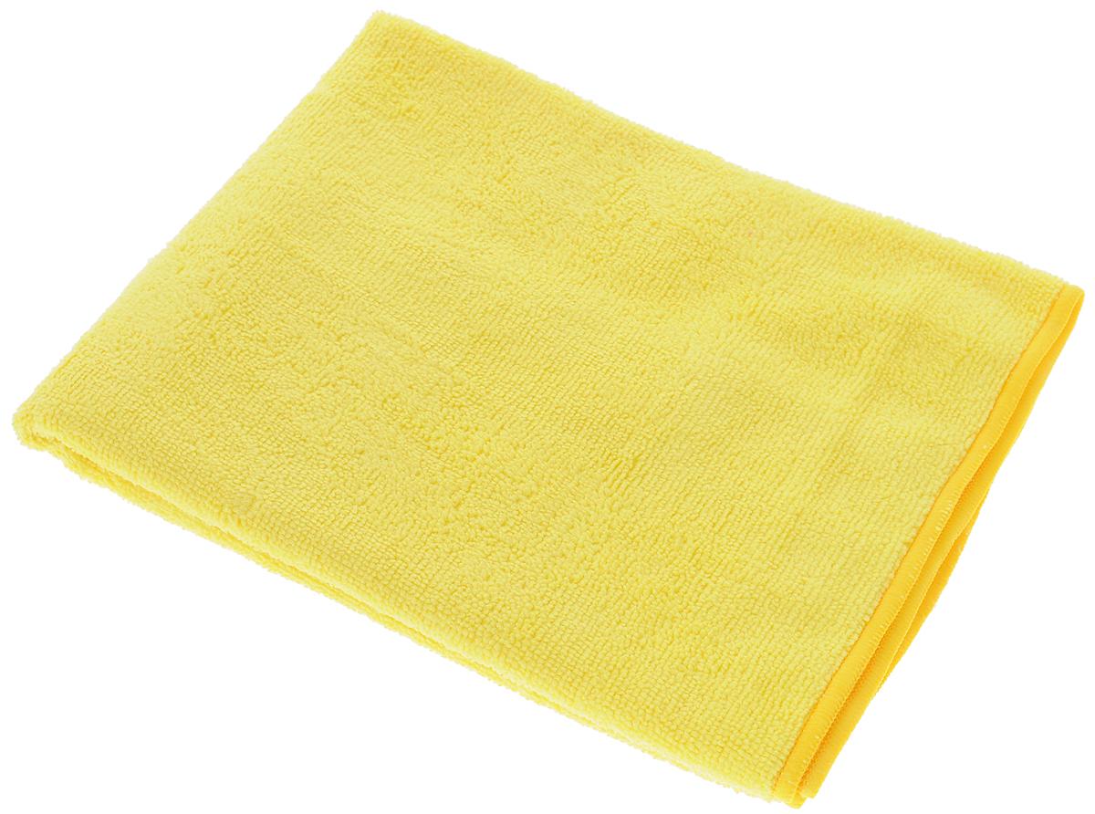 Тряпка-салфетка для пола Meule Premium, цвет: желтый, 50 х 70 см4607009241180_желтыйТряпка-салфетка Meule Premium выполнена из высококачественной микрофибры (80% полиэстер, 20% полиамид). Мягкая тряпка-салфетка очень большой плотности и большого размера, с хорошо выраженными ворсинками, предназначена для мытья любых типов полов. Идеально впитывает влагу, полирует поверхность, удаляет загрязнения и пыль. Легко стирается и долговечна в использовании.